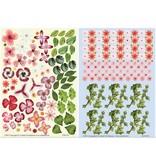 BLUMEN (MINI) UND ACCESOIRES Twin Pack flowerart, rød
