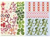 BLUMEN (MINI) UND ACCESOIRES Twin Pack flowerart, red