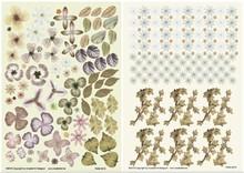 BLUMEN (MINI) UND ACCESOIRES Twin Pack flowerart, brun