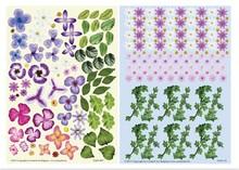 BLUMEN (MINI) UND ACCESOIRES Twinpack FlowerArt, lila