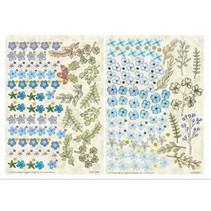Twinpack FlowerArt, blau, klein