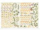 BLUMEN (MINI) UND ACCESOIRES Twin Pack flowerart, yellow tones, small