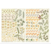 Twinpack FlowerArt, gelbtöne, klein