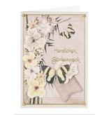 BLUMEN (MINI) UND ACCESOIRES Twin Pack flowerart, gule toner, lille