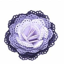 EK Succes, Martha Stewart EK Puñetazo 3D pañito dimensiones flor / 3D