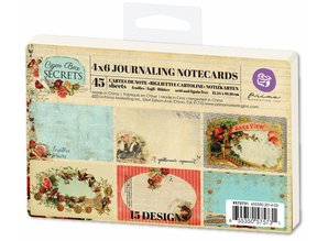Prima Marketing und Petaloo 45 Labels from Prima Marketing, Journaling Notecards