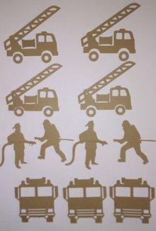 Scrapbooking ... Chipboards, Thema: Feuerwehr