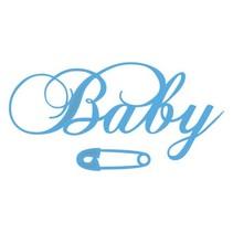 Skæring dør: Tekst BABY