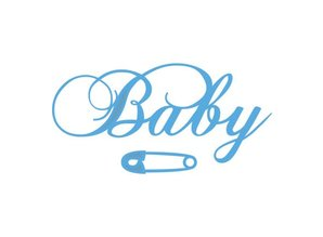 Marianne Design Troqueles de corte: el texto bebé