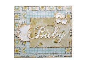 Marianne Design Stanzschablonen: Text BABY