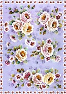 DECOUPAGE AND ACCESSOIRES carta decoupage Finmark Tender Roses