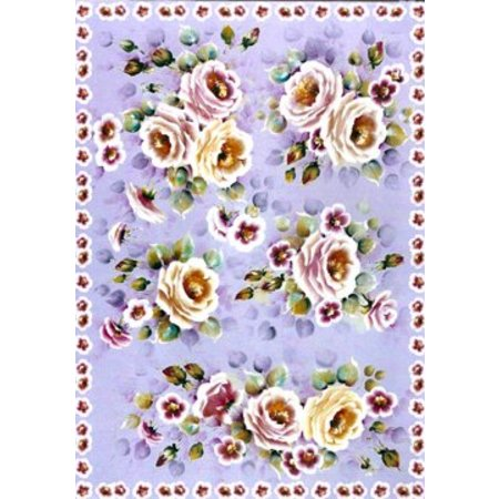 DECOUPAGE AND ACCESSOIRES papel decoupage Finmark Tender Roses