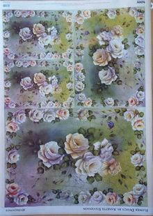 DECOUPAGE AND ACCESSOIRES Diseño de la flor de papel decoupage