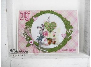Marianne Design Cutting dies: Heart border