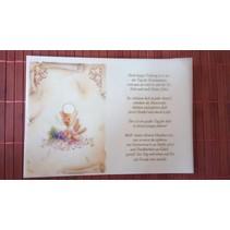 Gedichten op kalkpapier, communie