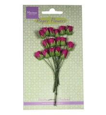 BLUMEN (MINI) UND ACCESOIRES Roses, medium pink