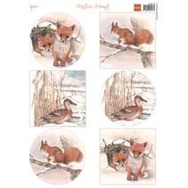 A4 Bilderbogen, Tiere