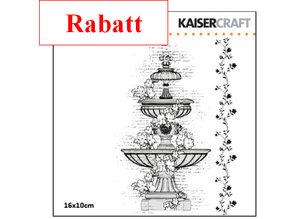 Kaisercraft und K&Company Gennemsigtige frimærker, vand brønde