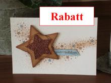DESIGNER BLÖCKE  / DESIGNER PAPER Glitter cardboard, 10 sheets 280gsm A4 format, light brown