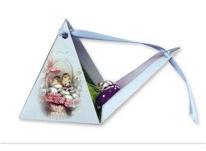 BASTELSETS / CRAFT KITS: Bastelset 8 Gave pyramider i påsken