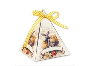 BASTELSETS / CRAFT KITS: Bastelset for 8 Gift pyramids at Easter