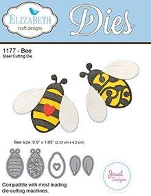 Elisabeth Craft Dies Stanzschablonen: 2 Bienen