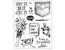 Viva Dekor und My paperworld Transparent stamp: Grunge