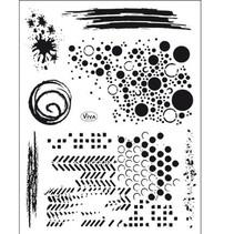 Transparent stamp: Grunge background of