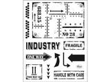 Viva Dekor und My paperworld timbre transparent: style industriel