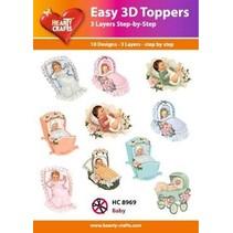 diseños 3D, bebé 10 motivos