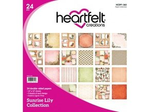 Heartfelt Creations aus USA Sunrise Lily Collection, total of 9 items!