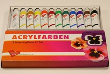 FARBE / INK / CHALKS ... Acrylfarben