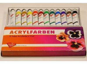 FARBE / INK / CHALKS ... colores acrílicos