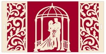 BASTELSETS / CRAFT KITS: Esclusiva pop-up di nozze fondale