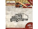 Amy Design Stanzschablone: LKW, Truck