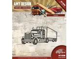 Amy Design modèle de poinçonnage: Camions, camions