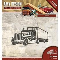 Stanzschablone: LKW, Truck
