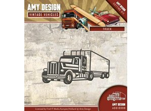 Amy Design modello di punzonatura: camion, camion