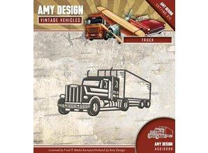 Amy Design Stanzschablone: LKW, Truck
