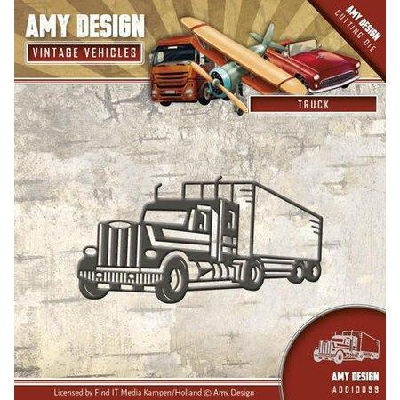 Amy Design Stansning skabelon: Lastbiler, Truck