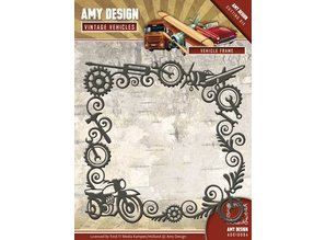 Amy Design Punching template: Vintage frame