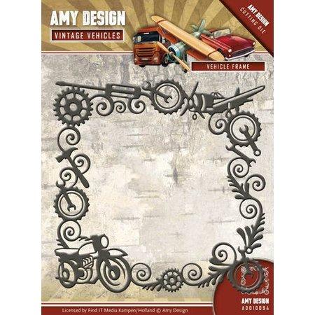 Amy Design Stanzschablone: Vintage Rahmen
