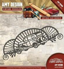 Amy Design Punching template: Car, Vintage Corner