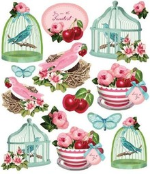 Tilda Tilda Stickers: Fruit Garden
