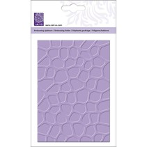 Embossing folders A5: stone wall Desgn