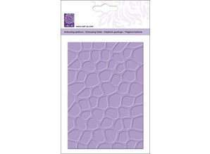 Cart-Us Embossing folders A5: stone wall Desgn