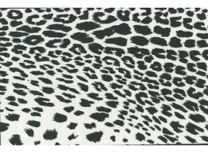 BASTELZUBEHÖR, WERKZEUG UND AUFBWAHRUNG Formfelt, Snow Leopard