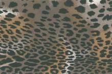 BASTELZUBEHÖR, WERKZEUG UND AUFBWAHRUNG Formfelt, Leopard