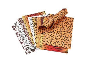 DESIGNER BLÖCKE  / DESIGNER PAPER Cardboard, animal fur, A4 210x297 mm, 300 g