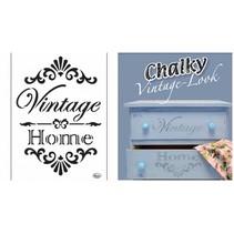 Universal-Schablone Vintage Home A4